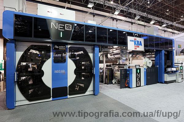 KBA-Flexotecnica представила гибридную машину NEO XD LR